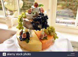 wedding cake made of cheese cheese wedding cake stock photos cheese wedding cake stock