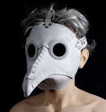 white plague doctor mask this is on sale at etsy what is it plague doctor mask in