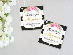 bridal shower favor tags bridal shower favor tags printable bridal shower tags thank