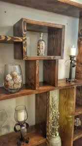 Rustic Wood Bookshelves by Rustic Modern 2 Tier Bathroom Wall Shelf With 18