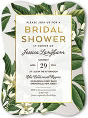 Wedding Shower Invites Green Bridal Shower Invitations Shutterfly
