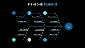 100 fishbone diagram template powerpoint free download flat