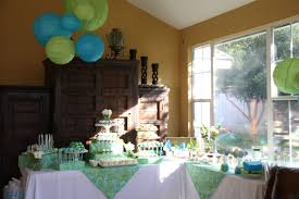 Blue Baby Shower Decorations Scenic A Boy Baby Shower Me Ideas Along With A Boy Baby Shower Mes