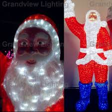 Outdoor Christmas Deer With Lights Sale Led Deer With Santa Claus Christmas Decoration Holiday