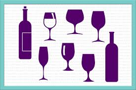 drink svg wine glass svg wine glasses svg wine design bundles