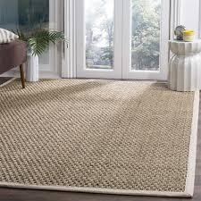 safavieh casual natural fiber ivory sisal sea grass rug 9 u0027 x 12