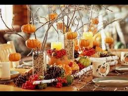Fall Table Settings Simple Fall Table Decorations