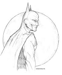 pencil sketch of batman pencil drawing collection