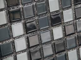 Glitter Bathroom Flooring - sparkling mosaic tile grout glitter grout with black silver white