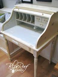 distressed roll top desk chalk painted roll top desk black distressed roll top desk