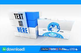transforming cube videohive template free download free