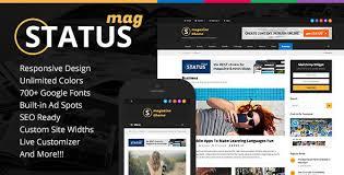 status magazine wordpress theme by wpexplorer themeforest