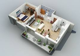 3d apartment apartment designs shown with rendered 3d floor plans apartments
