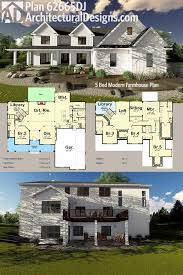 plan 62665dj 5 bedroom modern farmhouse plan farmhouse plans