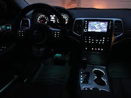 jeep grand cherokee red interior blue or white time to do interior door handle ambient lighting