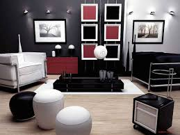 Rustic Home Decor Cheap by Home Decoration Awesome Living Room Design With Dark Sofa And Red