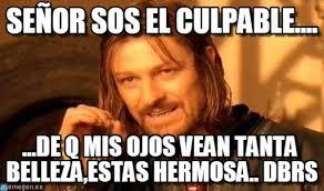 Sos Meme - se祓or sos el culpable one does not simply meme on memegen