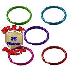 color key rings images Color split key rings bulk pack of 25 jpg