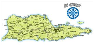 Map Of The Virgin Islands Larimar St Croix In St Croix Us Virgin Islands Is A Property