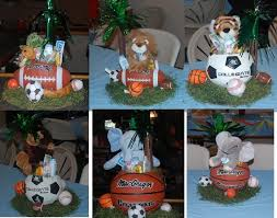 sports themed baby shower ideas sports themed baby shower centerpieces sports themed ba shower