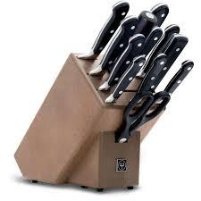 bloc couteau cuisine bloc couteaux brun 12 pieces wusthof 9847 achat vente couteau de