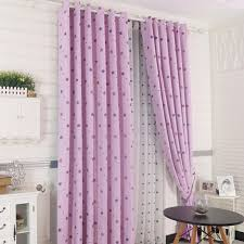 Pink And Purple Curtains Cool Pink Purple Polyester Print Curtains With Blackout
