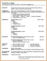 sle resume template word 2003 simple resume in word format