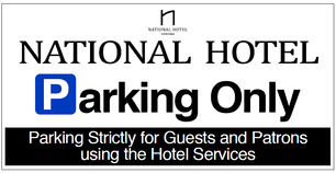 National Bar And Dining Rooms National Hotel Welcome