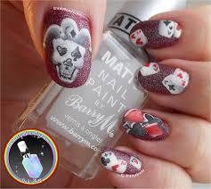 freehand skull joker u0026 playing card nails ithinitybeauty com