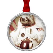sloth ornaments keepsake ornaments zazzle