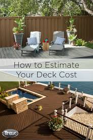Patio Pavers Cost Calculator by 161 Best Trex News Hub Images On Pinterest Deck Patio Backyard