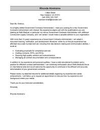 cover letter government job sample cover letter sample