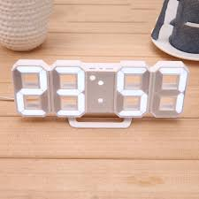 Modern Desk Clock Modern Digital Led Table Clock Watches 24 Or 12 Hour Display Alarm