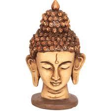 earth buddha head statue god idols homeshop18