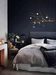schwarzes schlafzimmer die besten 25 schwarze wände ideen auf schwarze