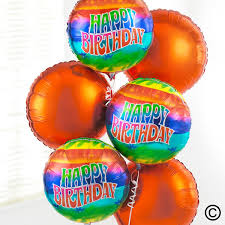 birthday balloon arrangements happy birthday balloon bouquet
