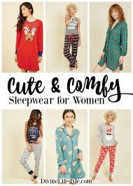 and comfy sleepwear for pajamas lifestyle