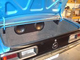 camaro speaker box cars sound decision