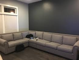 grey couch with grey walls what color rug