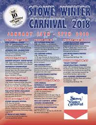 schedule of events stowe winter carnival