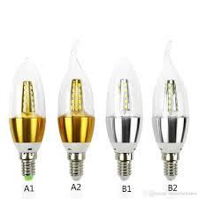 Led Lamp Light Bulbs by Best E14 Led Candle Energy Crystal Lamp Saving Lamp Light Bulb