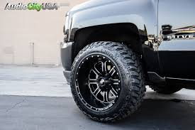 Wide Rims For Chevy Trucks 2016 Chevy Silverado 1500 20x2 Rdr Wheels Rd01 Dirt Rough