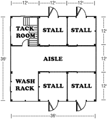 barn plans stable designs building plans for horse housing