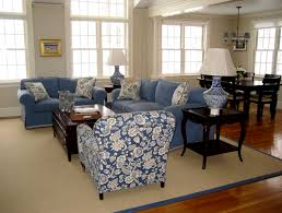 blue and white rooms blue and white family room