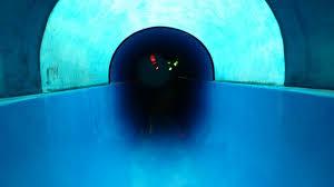 Basinus Bad Aquarius Borken Wasserrutsche Black Hole Youtube