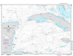 Map Caribbean Sea by Nga Chart 28004 Caribbean Sea Northwest Part Loran C