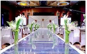 Wedding Aisle Runners Wedding Centerpieces Mirror Carpet Aisle Runner Silver 1m Wide