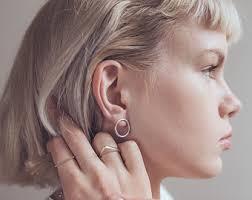 tight hoop earrings hoop earrings etsy uk