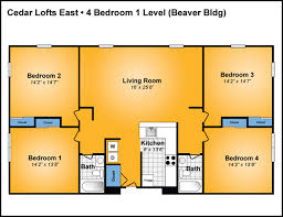 Apartments Floor Plan Cedar Lofts East A Great Penn State And State College Housing Option