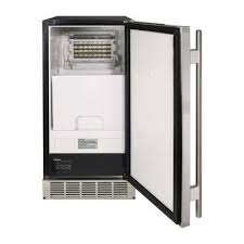 Cabinet Ice Maker Built In U0026 Freestanding Ice Makers Ice Makers The Home Depot